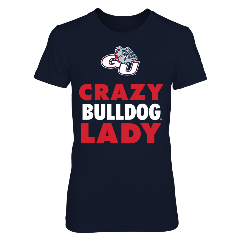 Crazy Lady - Gonzaga Bulldogs Front picture