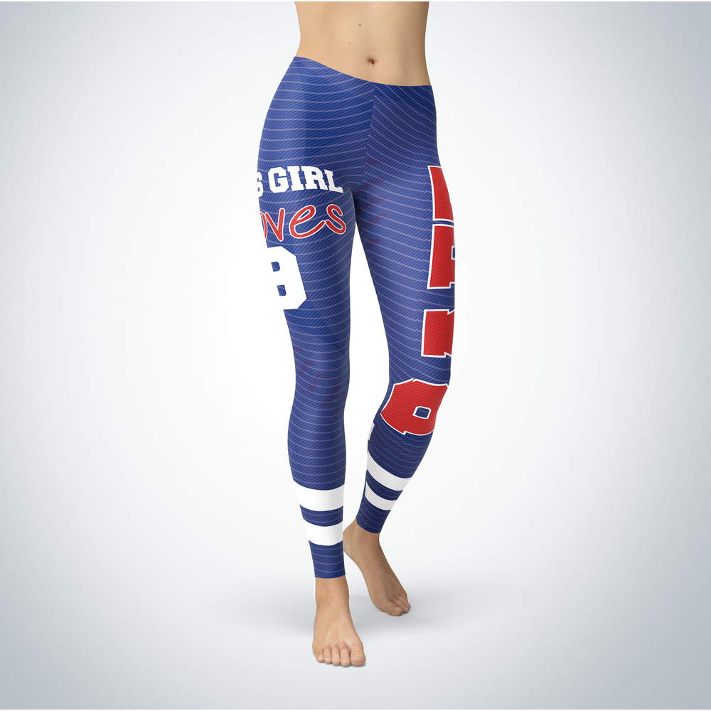 This Girl Love Leggings - Javier Baez Front picture