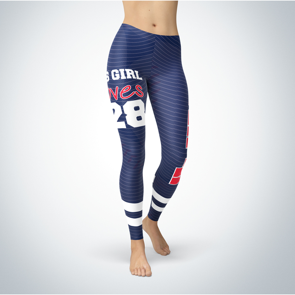 This Girl Love Leggings - Corey Kluber Front picture