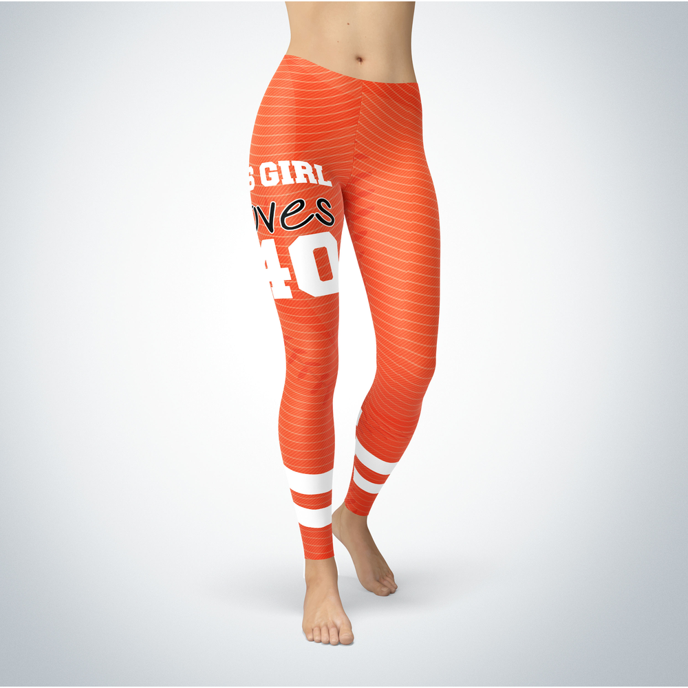 This Girl Love Leggings - Madison Bumgarner Front picture