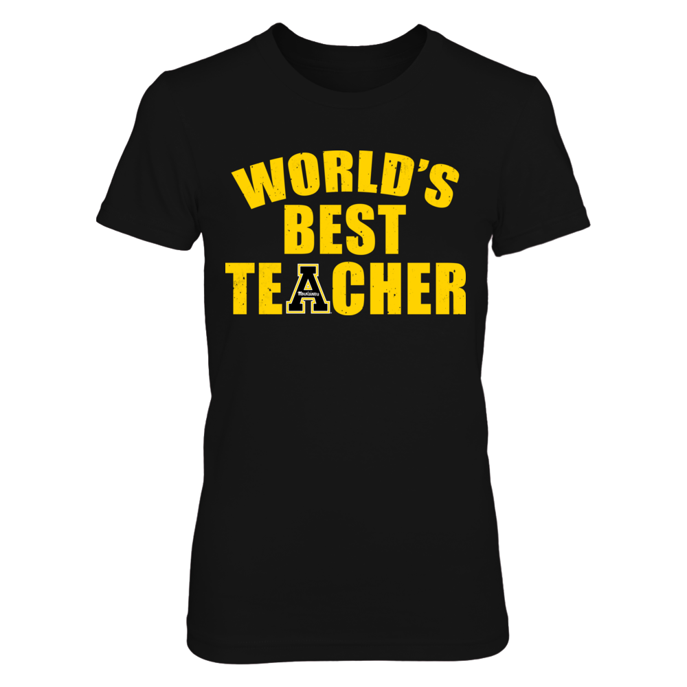 Appalachian State Mountaineers - World's Best Teacher Front picture