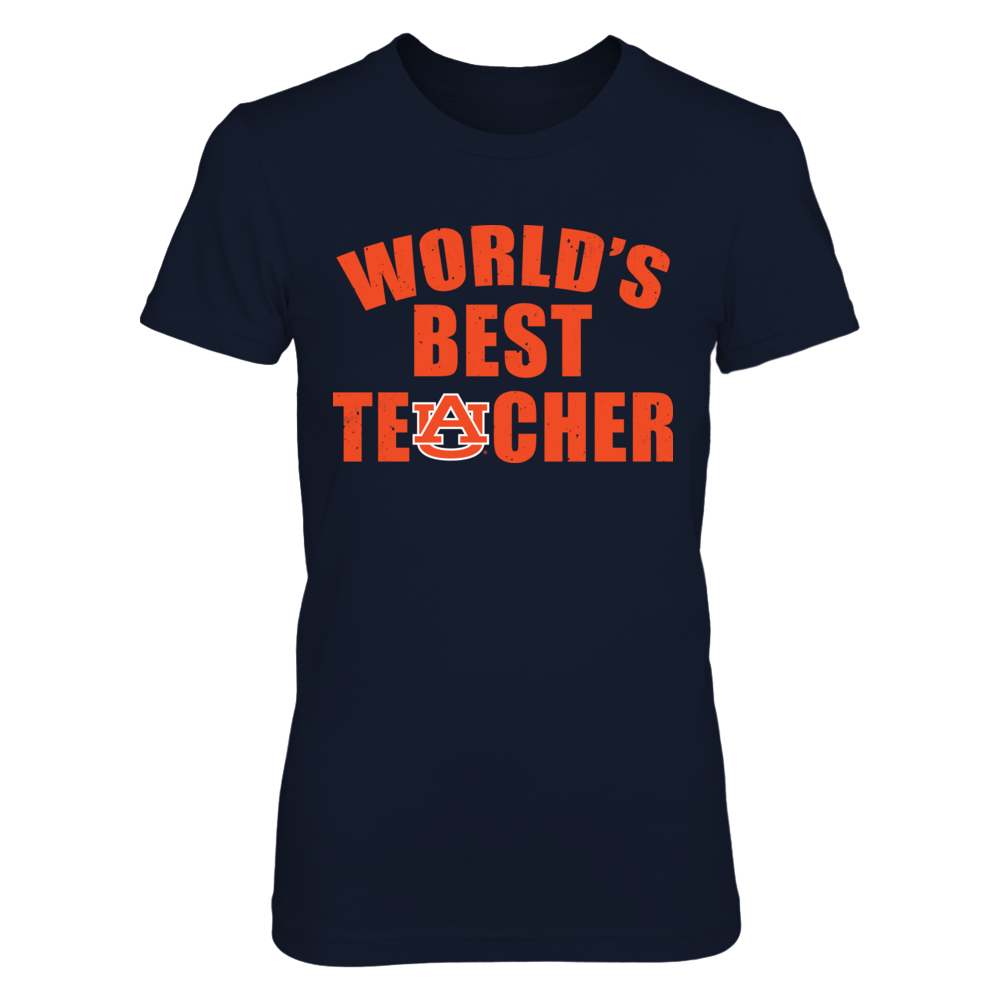 Auburn Tigers - World's Best Teacher Front picture