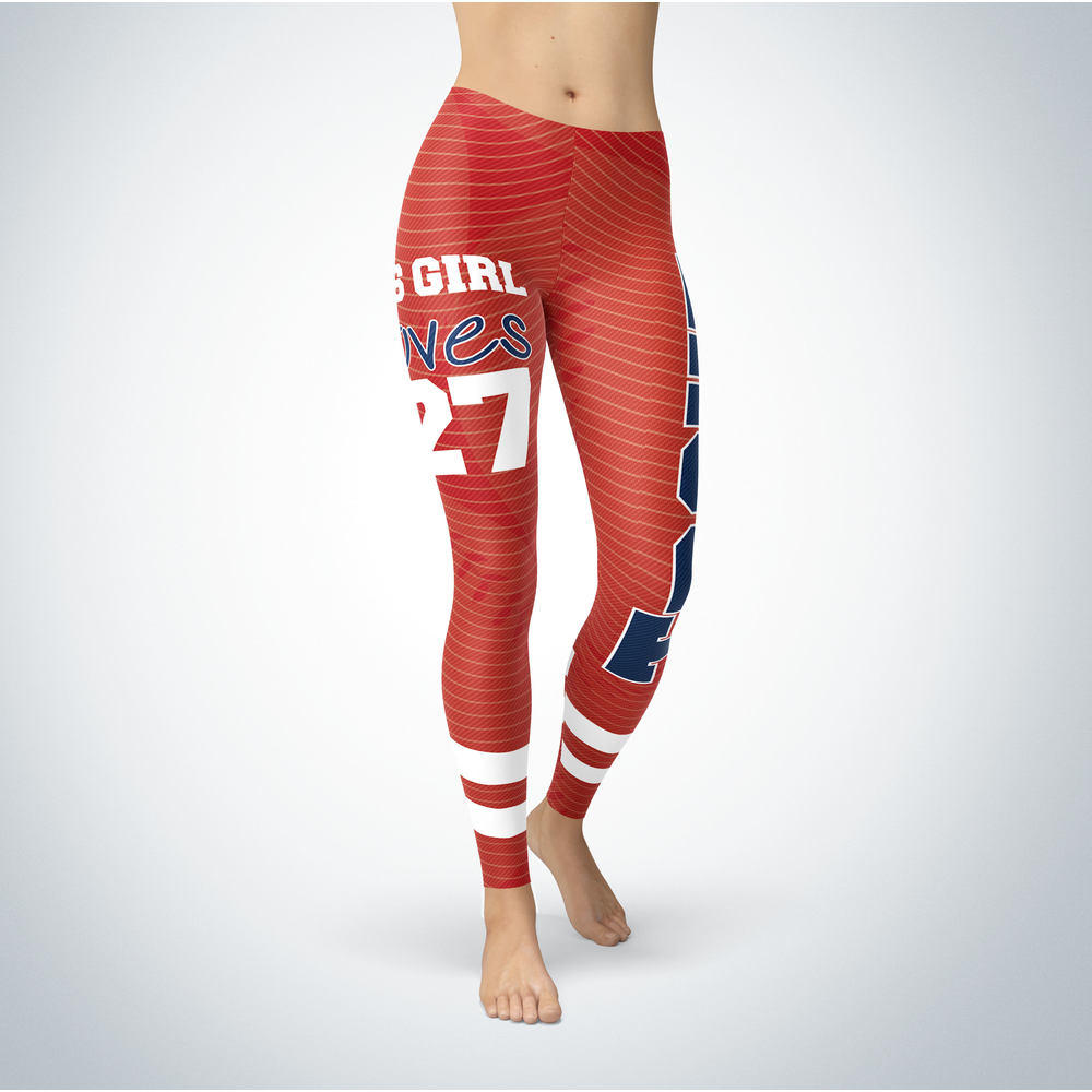 This Girl Love Leggings - Mike Trout Front picture