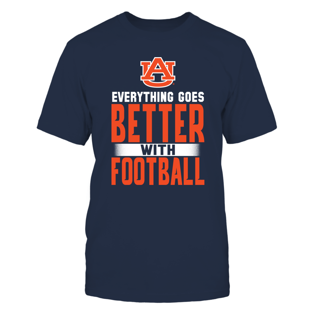 Auburn Everything Goes Better With Football Front picture