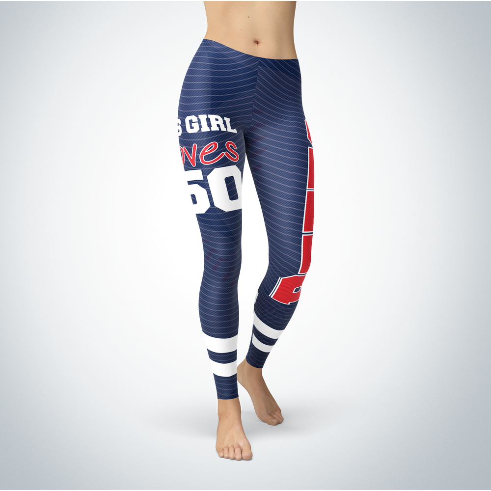 This Girl Love Leggings - Mookie Betts Front picture