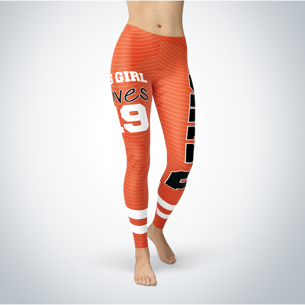 This Girl Love Leggings - Chris Davis Front picture