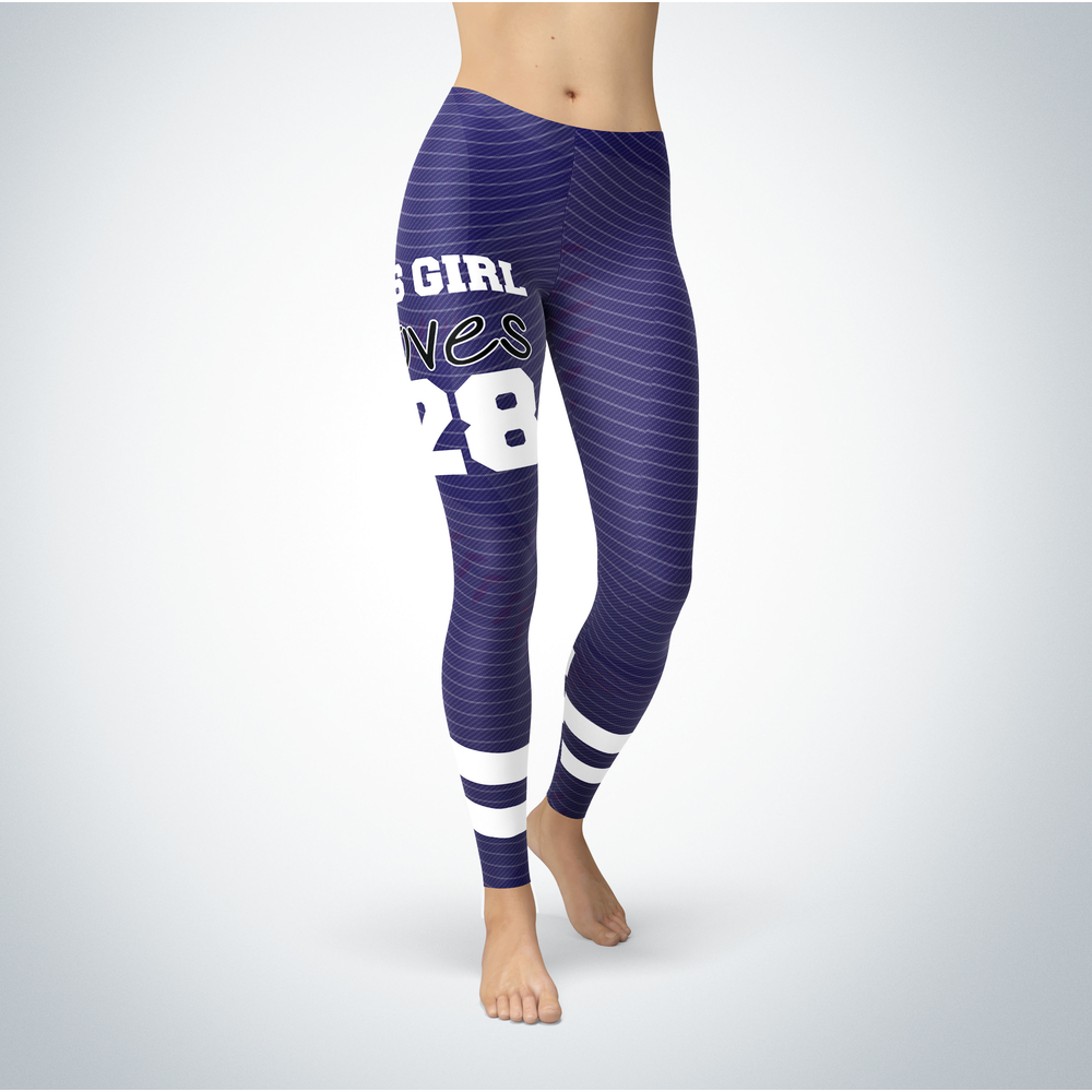 This Girl Love Leggings - Nolan Arenado Front picture