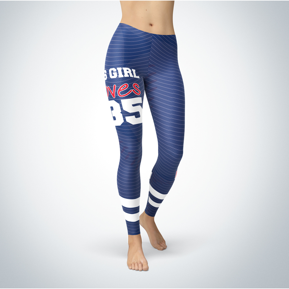 This Girl Love Leggings - Cody Bellinger Front picture