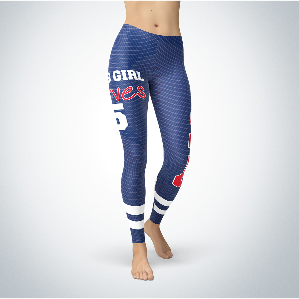 This Girl Love Leggings - Corey Seager Front picture
