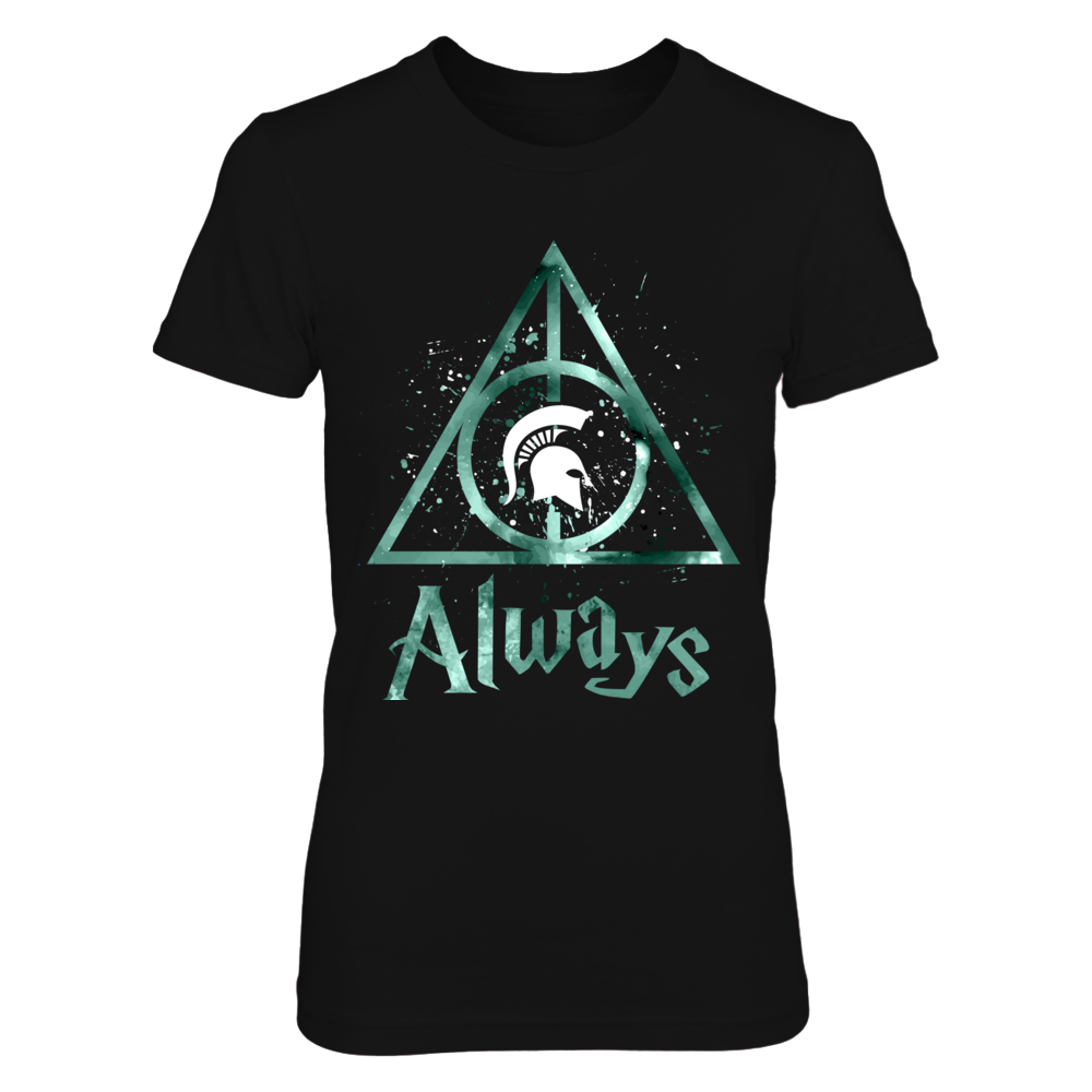 Michigan State Spartans - Color Drop Deathly Hallows Front picture