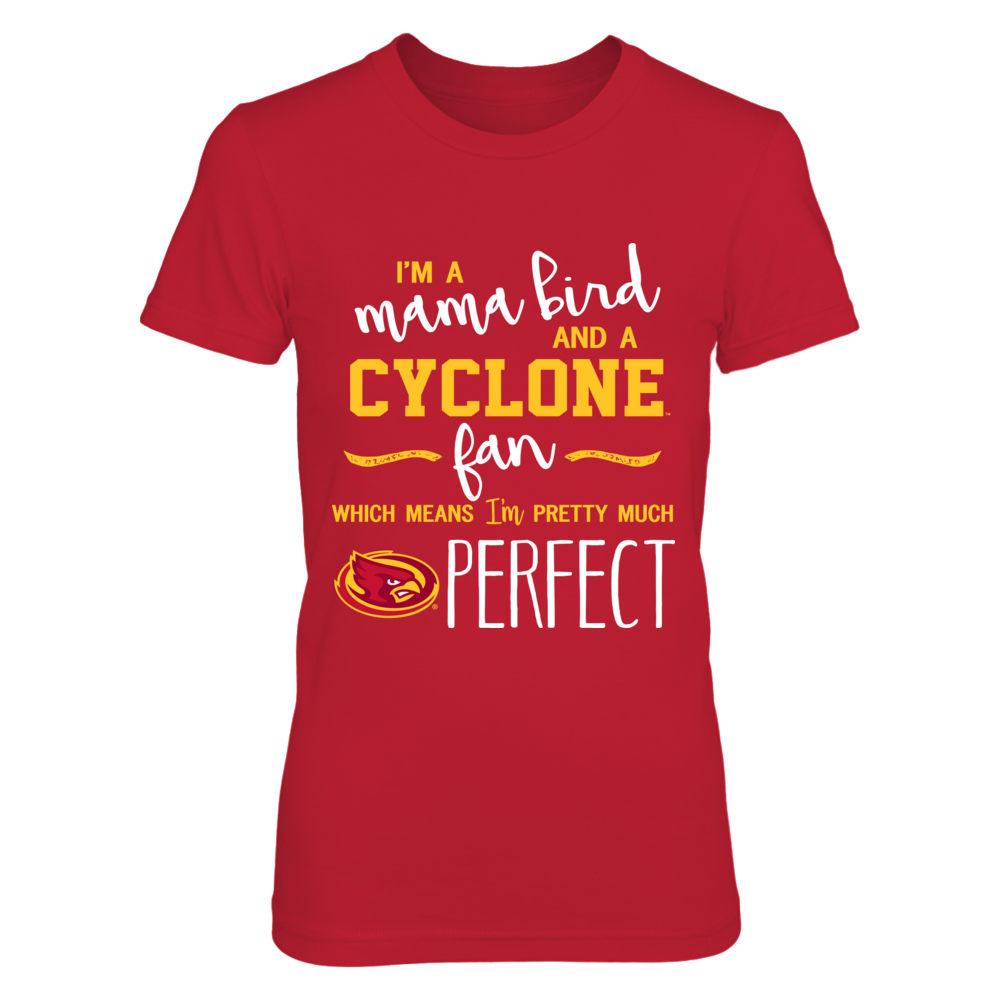 Iowa State Cyclones - Perfect Mama Mascot Front picture