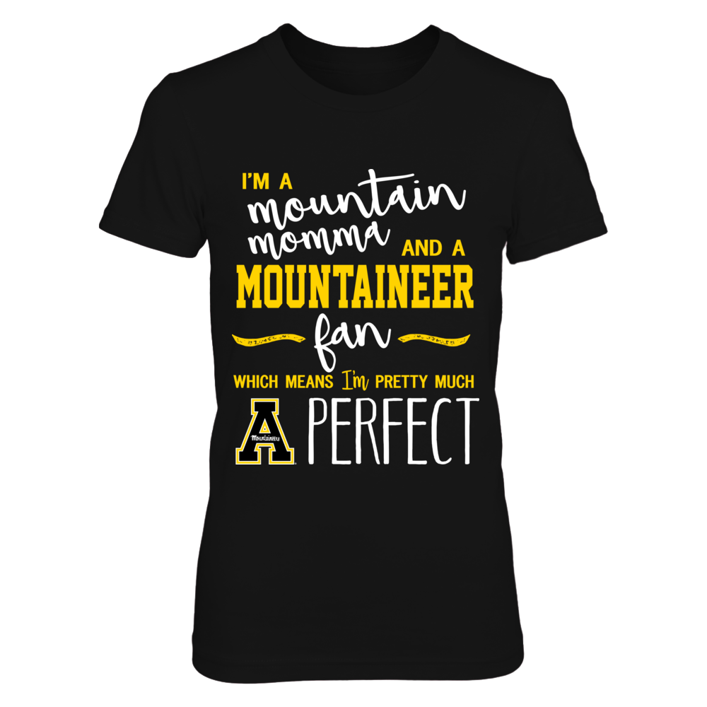 Appalachian State Mountaineers - Perfect Mountain Momma Front picture