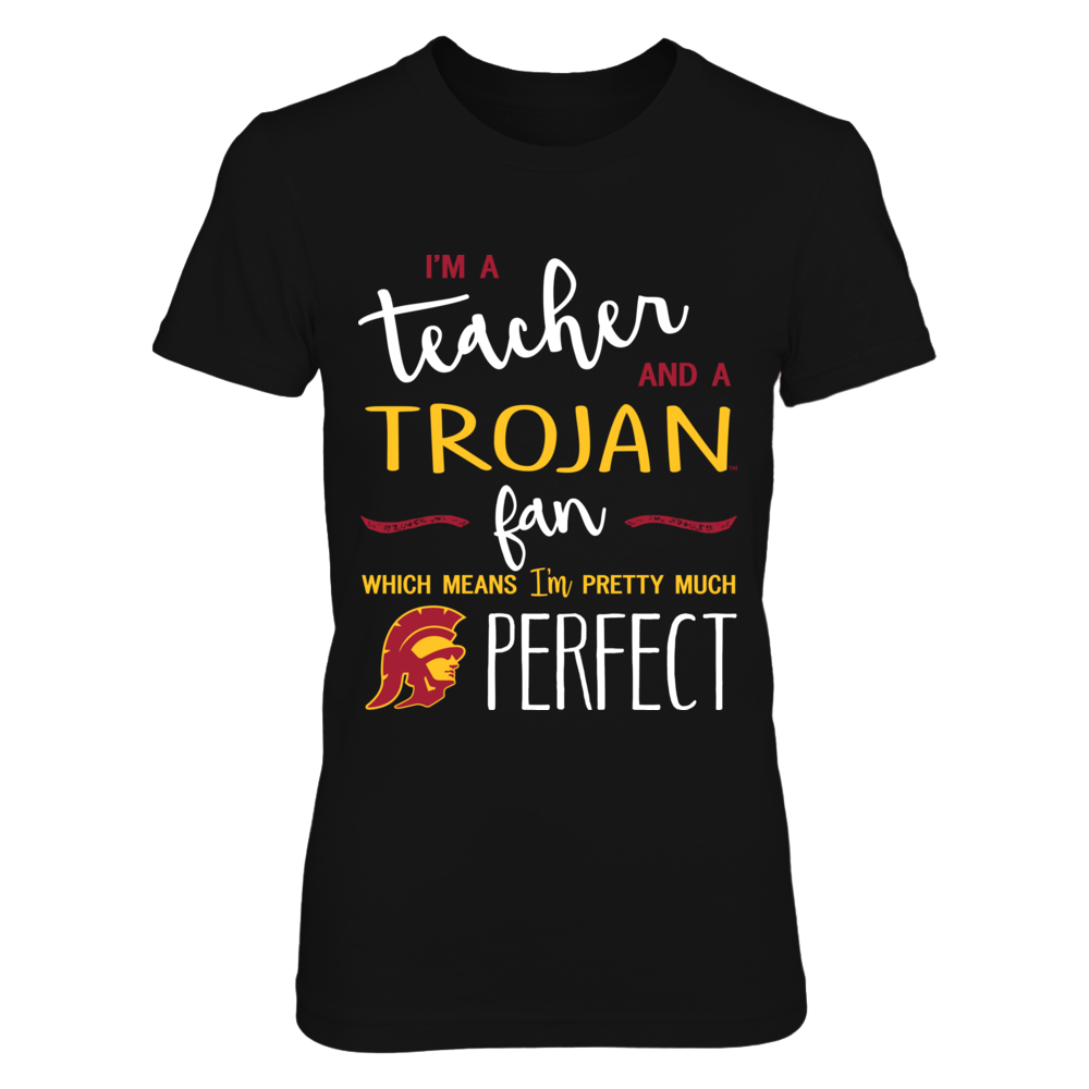 USC Trojans - Perfect Teacher - IF-IC13-DS27 Front picture