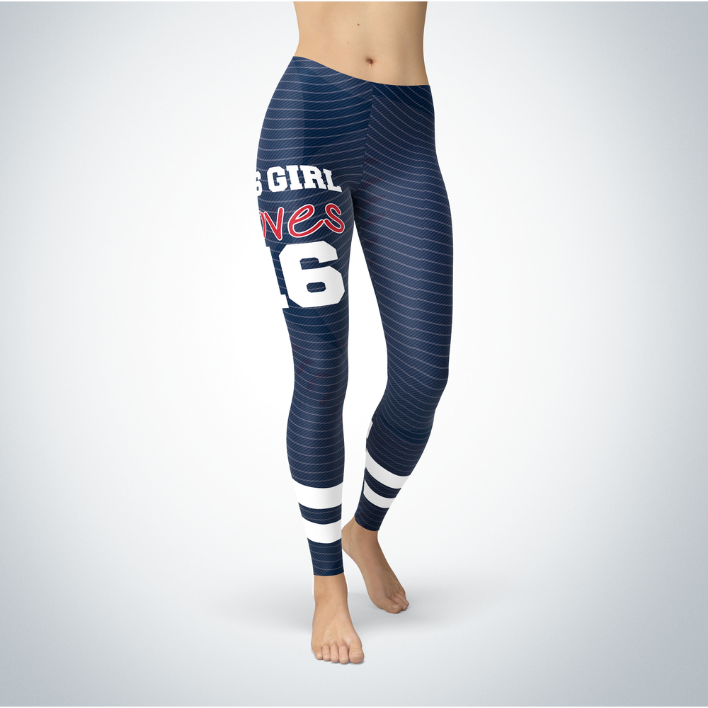 This Girl Love Leggings - Andrew Benintendi Front picture