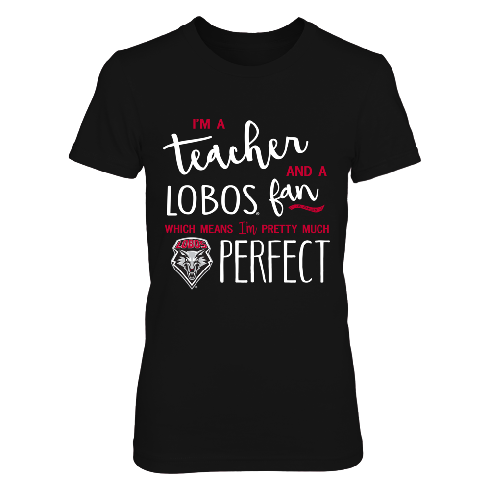 New Mexico Lobos - Perfect Teacher - IF-IC13-DS45 Front picture