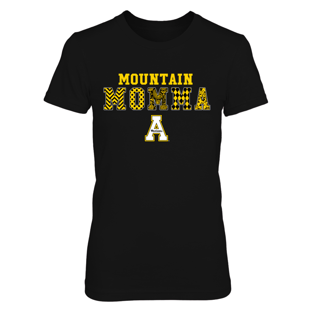 Appalachian State Mountaineers - Patterned Mountain Momma - IF-IC13-DS45 Front picture