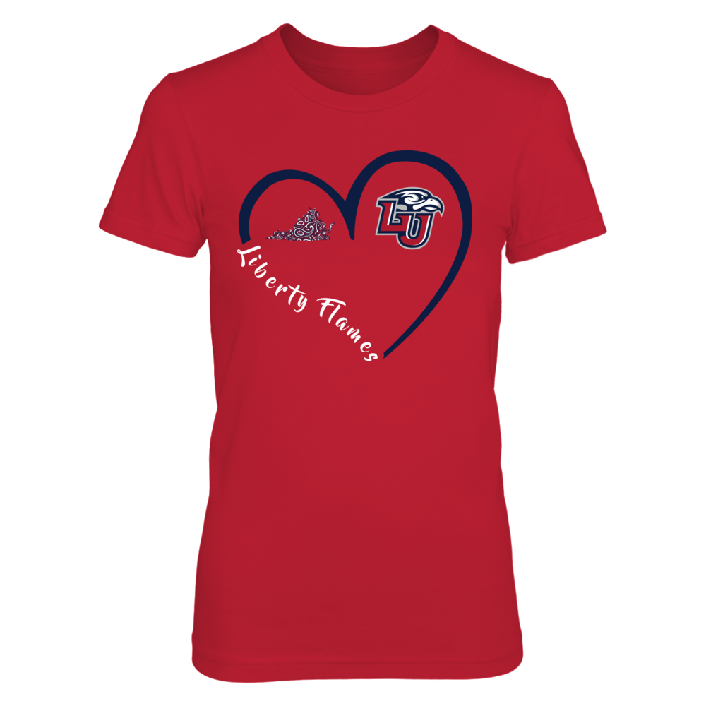 Liberty Flames - Heart 3/4 Front picture