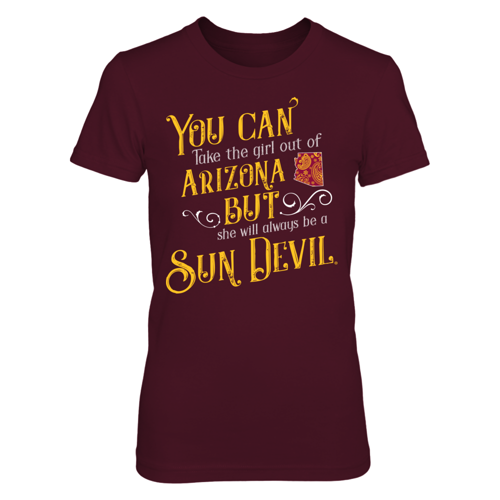 Arizona State Sun Devils - Take The Girl Out Paisley State Front picture