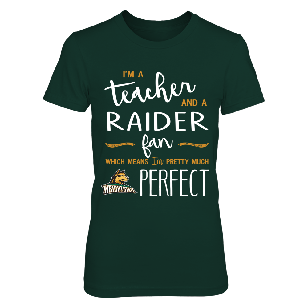 Wright State Raiders - Perfect Teacher - IF-IC13-DS27 Front picture
