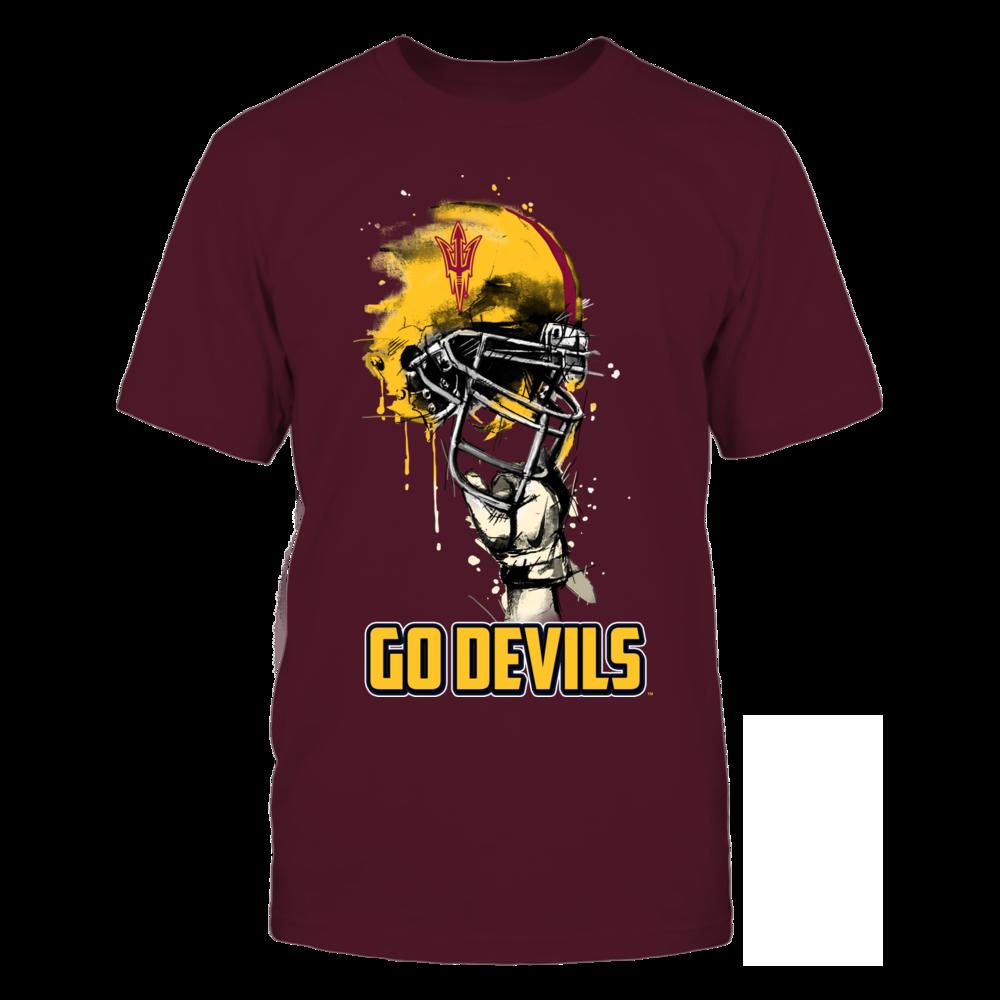 Arizona State Sun Devils - Rising Helmet Front picture