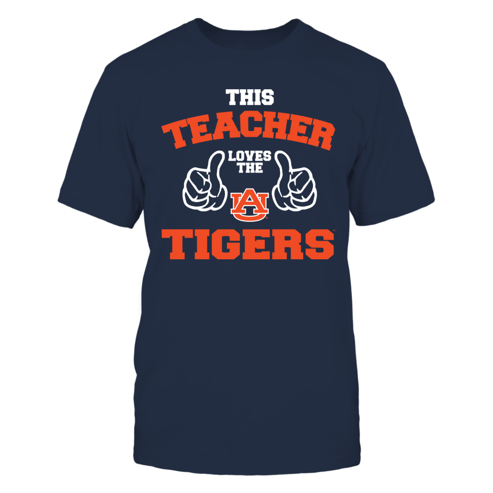 This Teacher Loves The Auburn Tigers Front picture