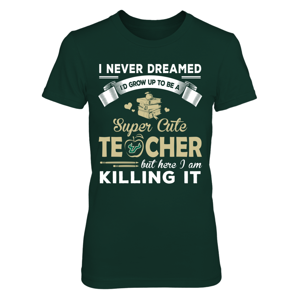 South Florida Bulls - Dreamed To Be Teacher Front picture