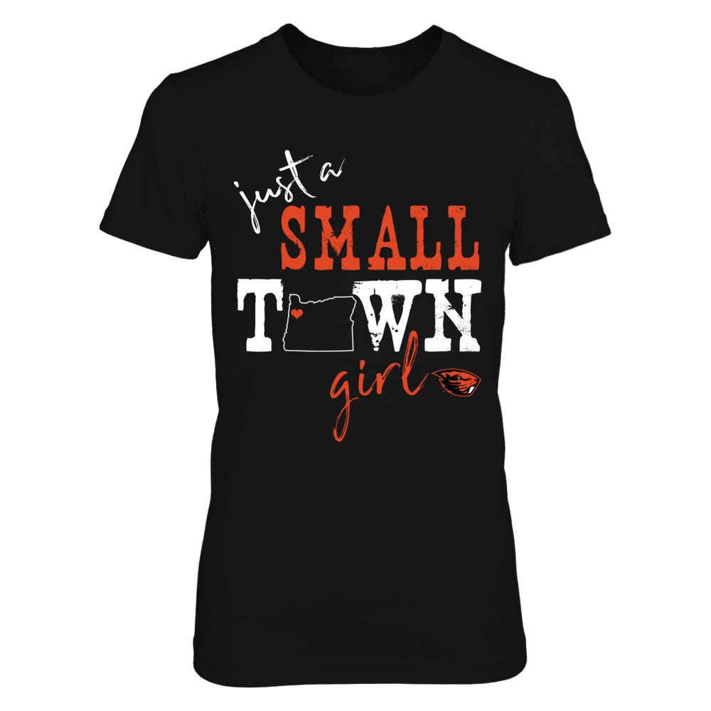 Oregon State Beavers - Small Town Girl - State Outline - IF-IC13-DS64 Front picture