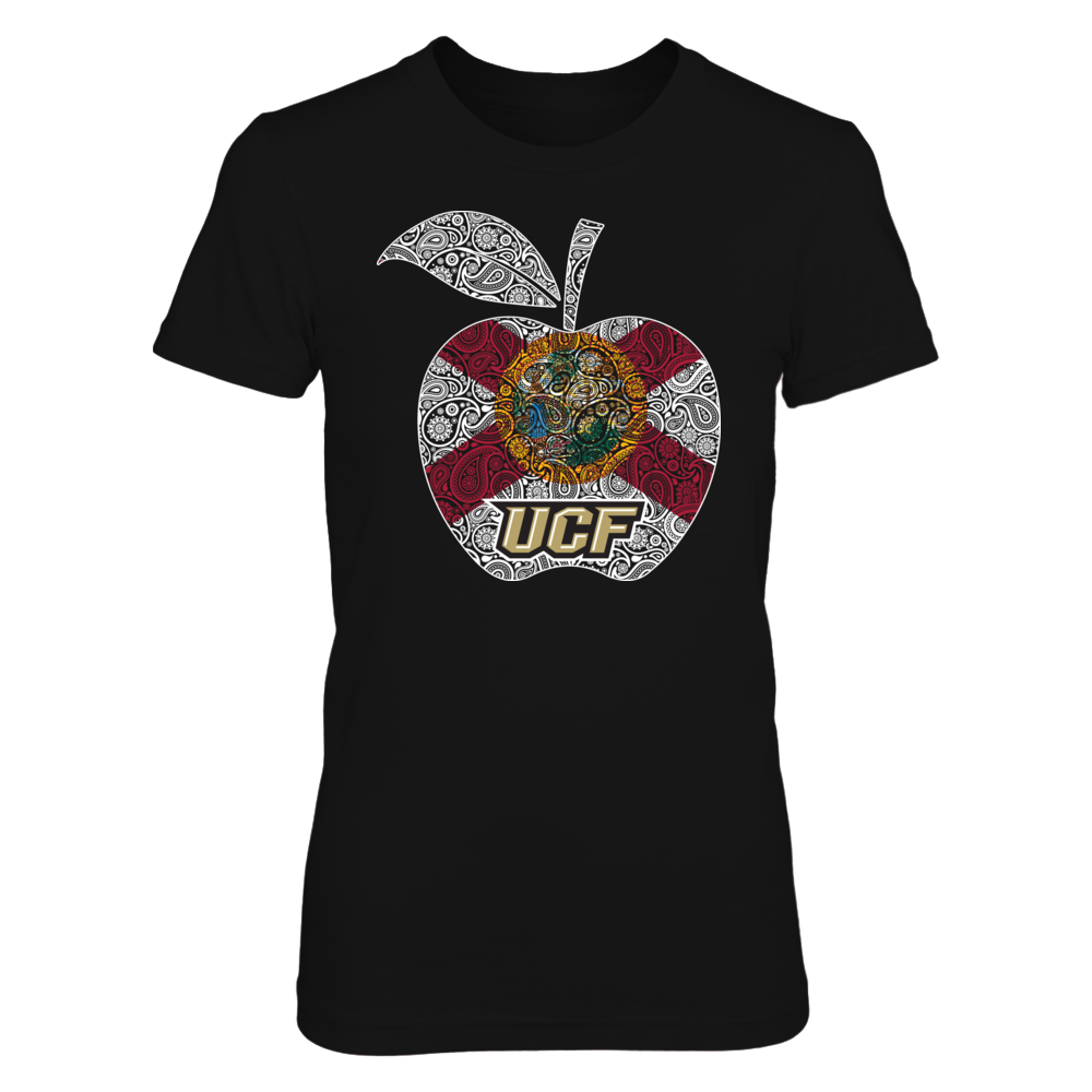 UCF Knights -  Teacher Apple Flag Front picture