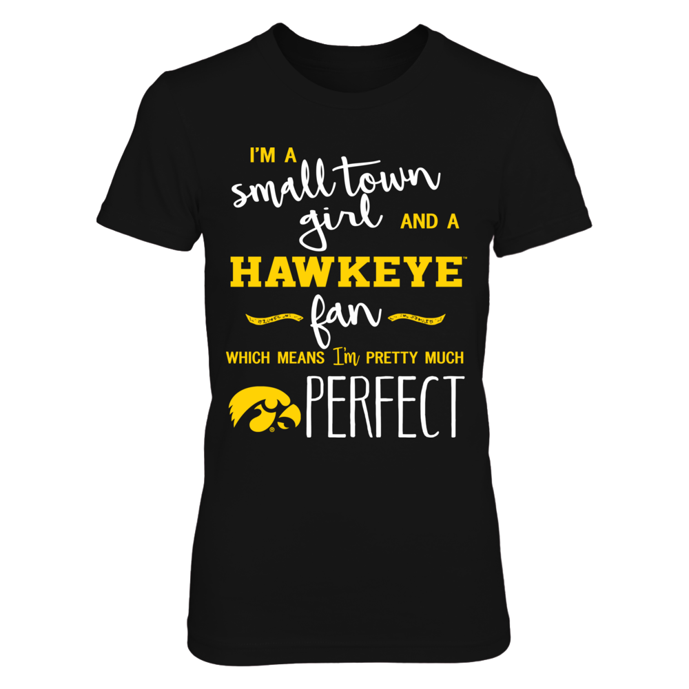 Iowa Hawkeyes - Perfect Small Town Girl Front picture