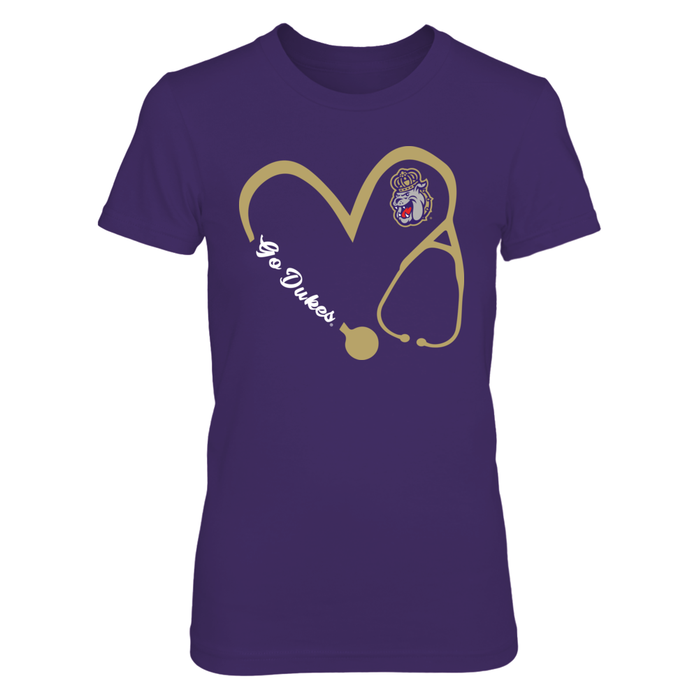 James Madison Dukes - Heart 3-4 - Nurse - IF-IC17-DS27 Front picture