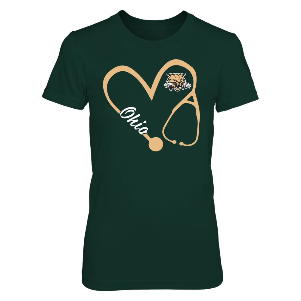 Ohio Bobcats - Heart 3-4 - Nurse - IF-IC17-DS27 Front picture