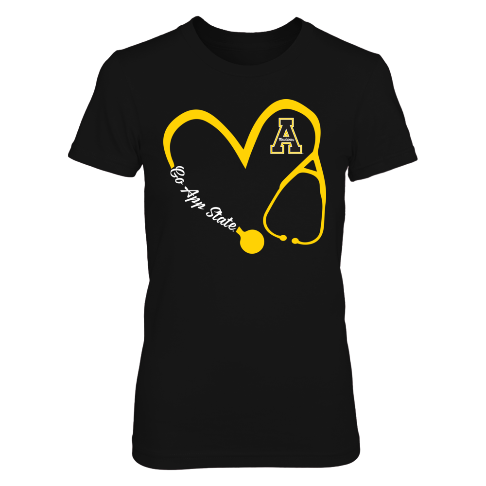 Appalachian State Mountaineers - Heart 3-4 - Nurse - IF-IC17-DS37 Front picture