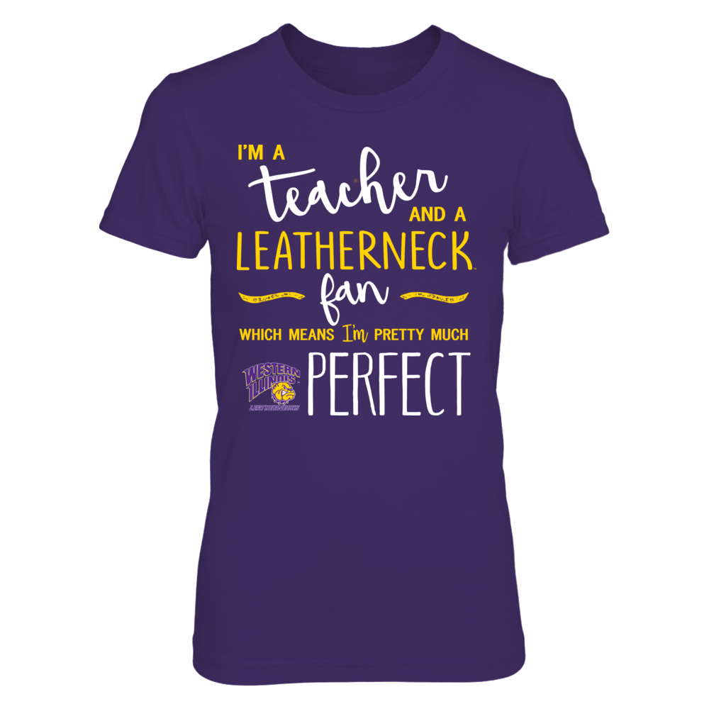 Western Illinois Leathernecks - Perfect Teacher - IF-IC13-DS85 Front picture
