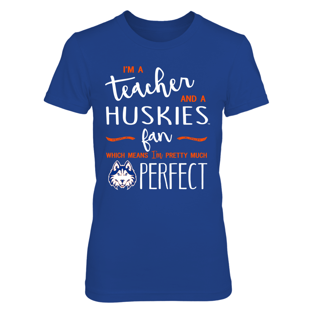 Houston Baptist Huskies - Perfect Teacher - IF-IC13-DS45 Front picture