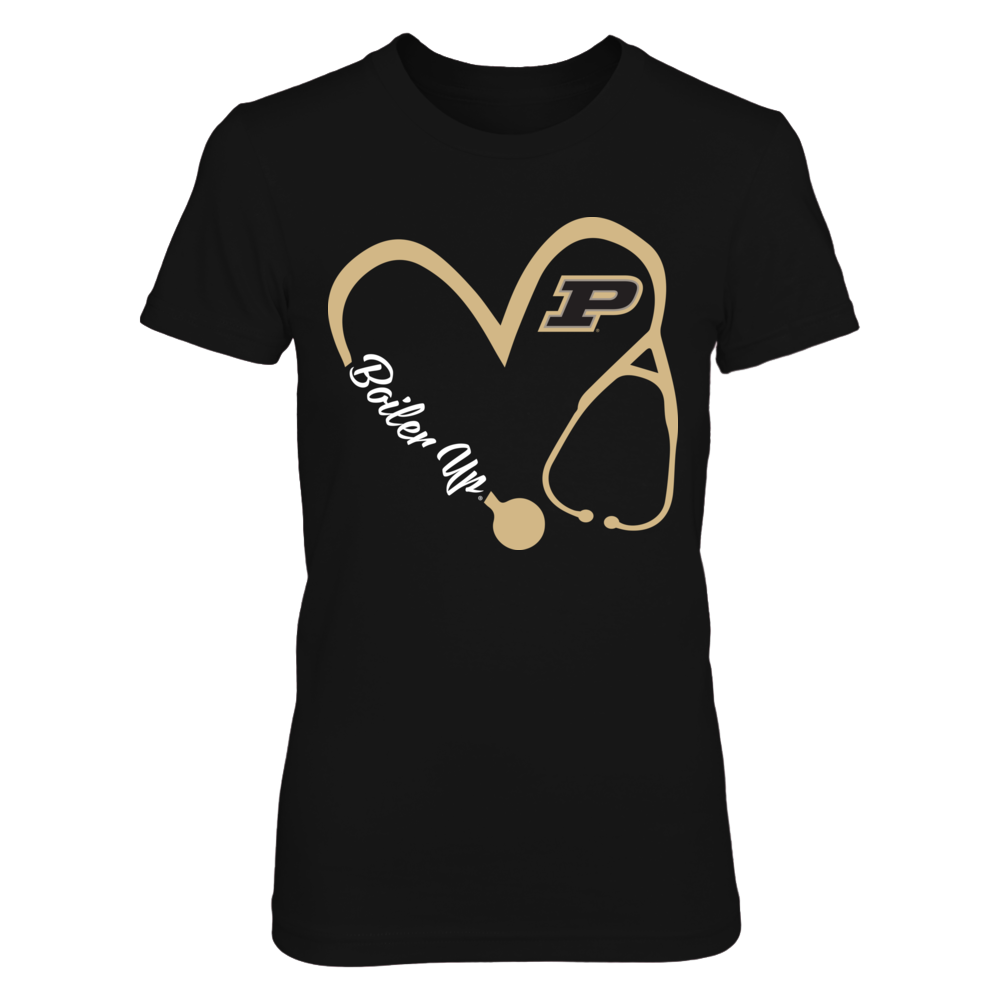 Purdue Boilermakers - Heart 3/4 - Nurse  - IF-IC32-DS75 Front picture