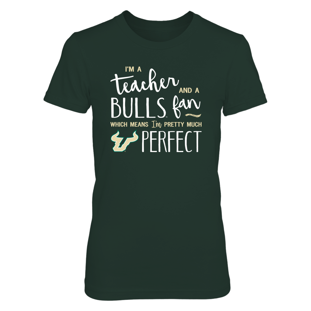 Perfect Teacher South Florida Bulls Fan T-Shirt | Tank Front picture