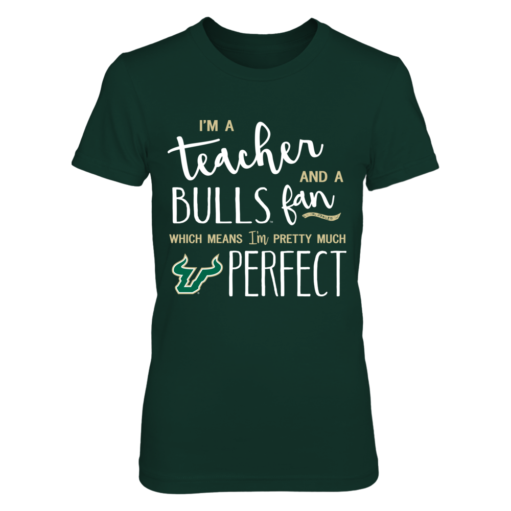 South Florida Bulls - Perfect Teacher - IF-IC13-DS64 Front picture