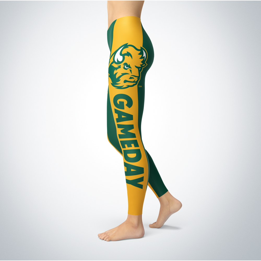 Game Day Leggings - North Dakota State Bison Back picture