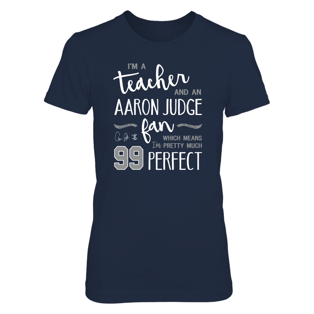 Perfect Teacher Aaron Judge Fan T-Shirt | Tank Front picture