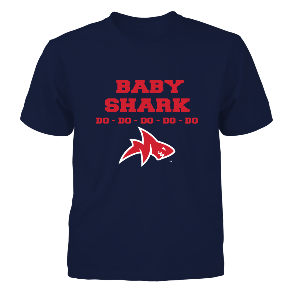 Ole Miss Rebels - Family Shark - Baby Front picture