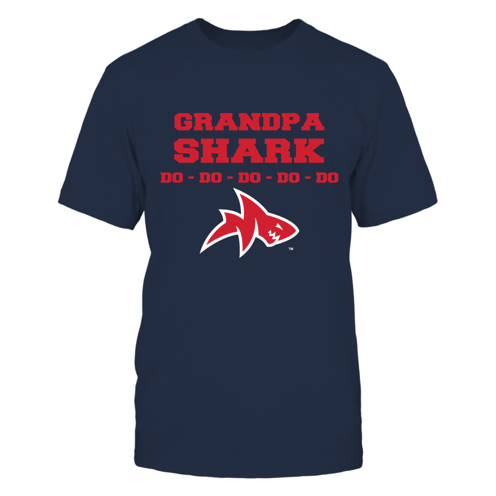 Ole Miss Rebels - Family Shark - Grandpa Front picture