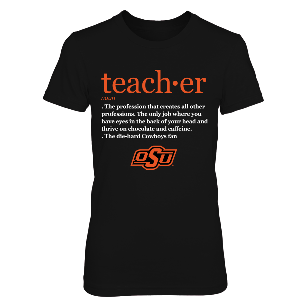 Oklahoma State Cowboys - Teacher Definition - IF-IC13-DS45 Front picture