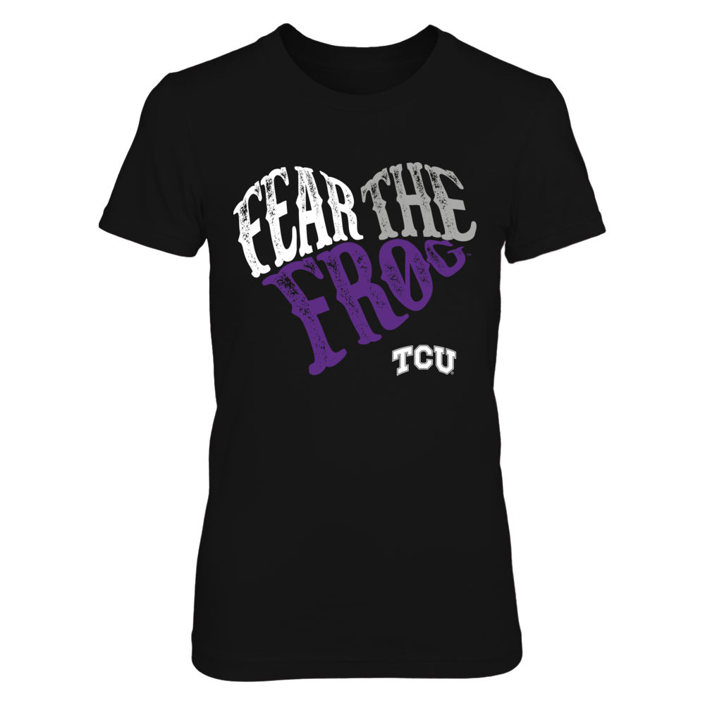 TCU Horned Frogs - Slogan Heart Shape Front picture