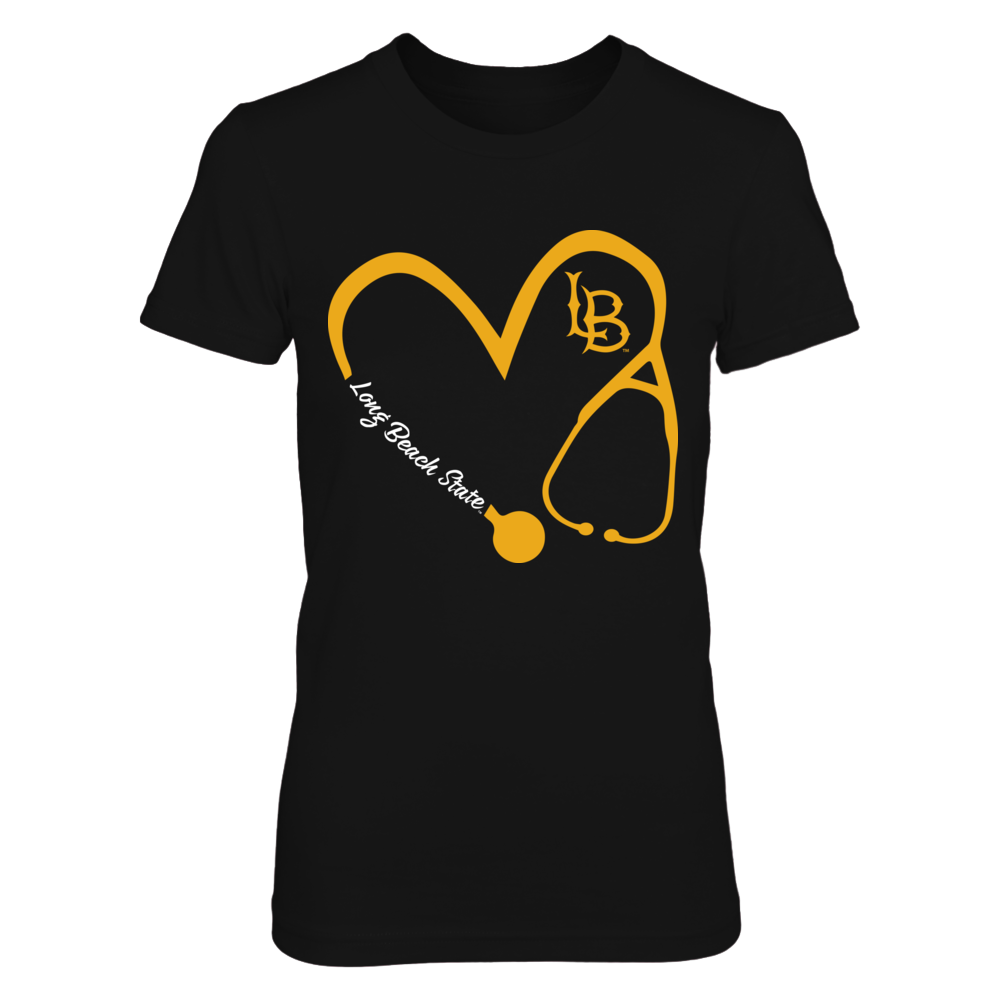 Long Beach State 49ers - Heart 3-4 - Nurse - IF-IC17-DS45 Front picture