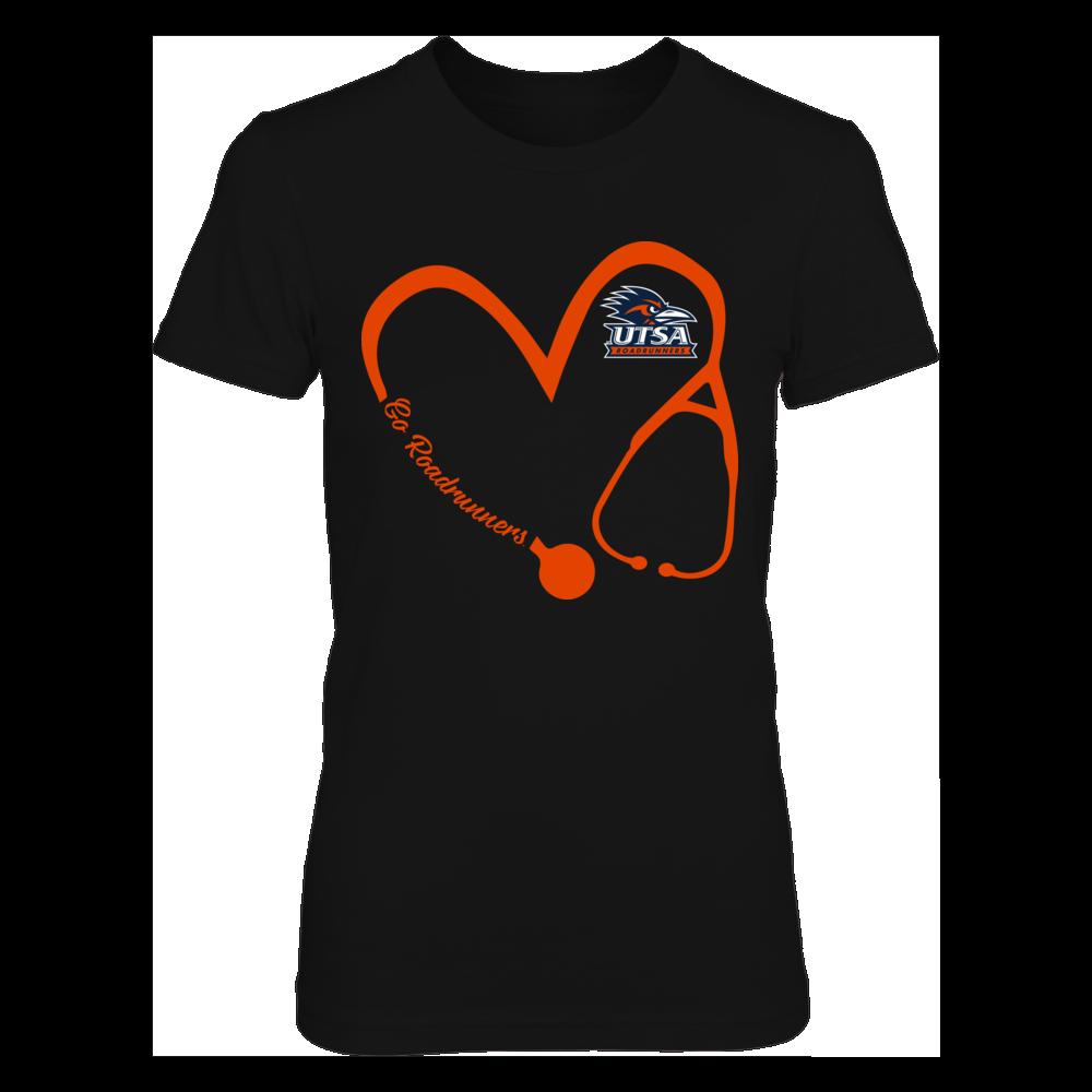 UTSA Roadrunners - Heart 3/4 - Nurse Front picture