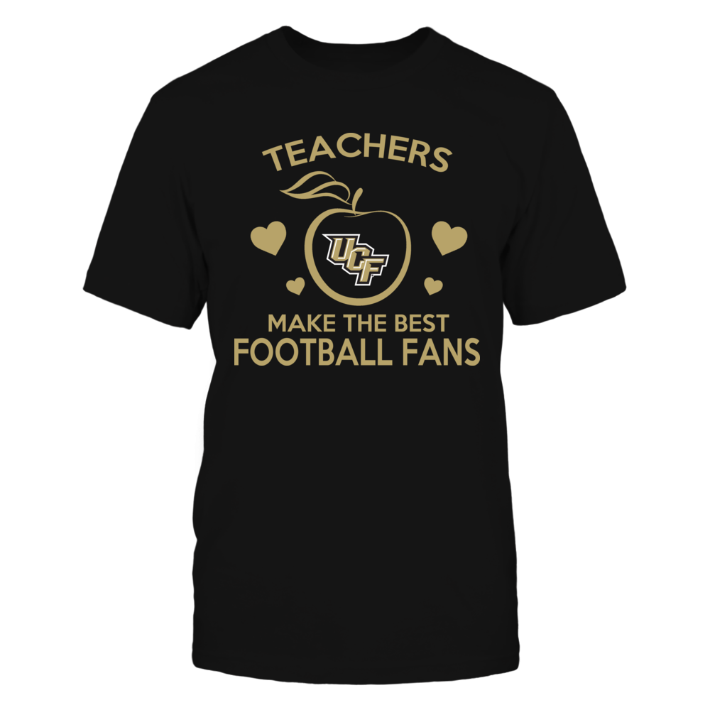 Teachers Make The Best Football Fans UCF Knights Front picture