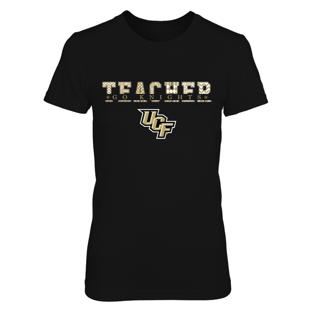 UCF Knights - Teacher Patterned Letter Front picture