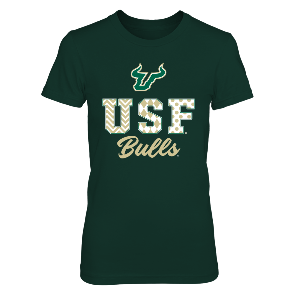 South Florida Bulls - Patterned Letters Front picture