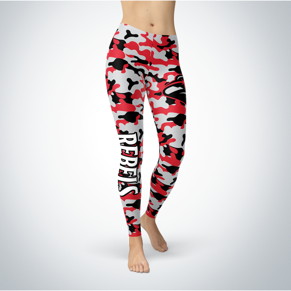 Camo Leggings - UNLV Rebels Front picture