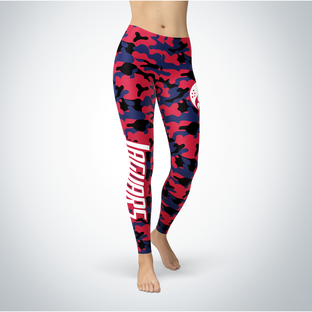 Camo Leggings - South Alabama Jaguars Front picture